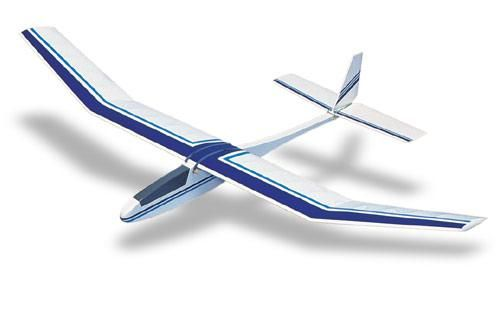 West Wings Merlin Glider Balsa Kit - available from Hobbies, the UK's favourite online hobby store!