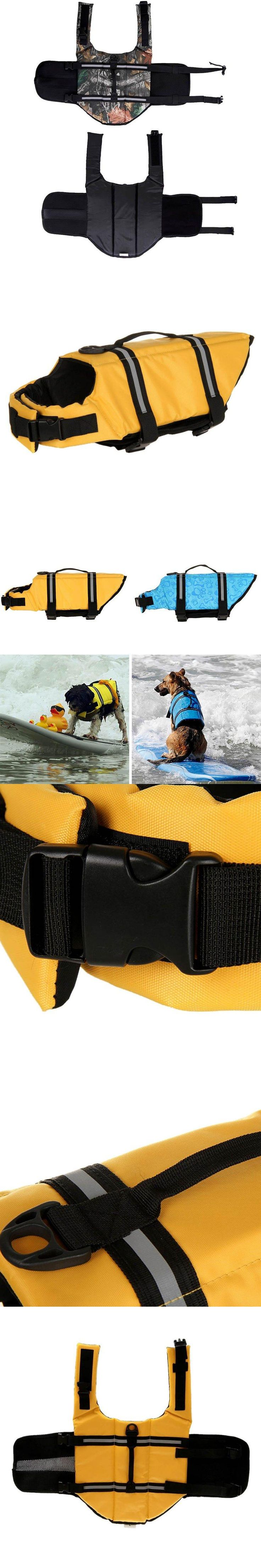 5 Color Oxford Breathable Mesh Pet Dog Life Jacket Summer Dog Swimwear Puppy Life Vest Safety Clothes XS-XL dog coats 2017