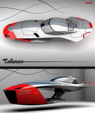Audi Futuristic Car !! Audi Calamaro Concept. #audi #calamaro #concept