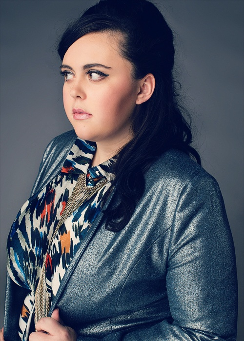 Sharon Rooney. Proof that you don't have to be size 6 to be beautiful