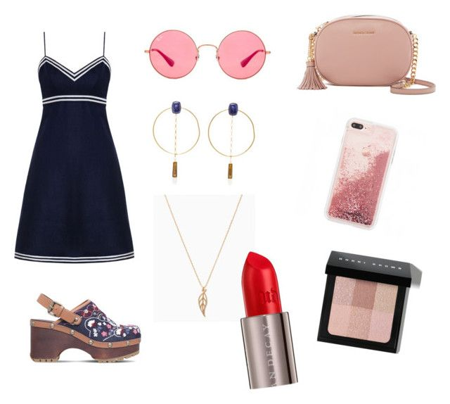 """""""Untitled #34"""" by iammariii on Polyvore featuring Zimmermann, See by Chloé, Isabel Marant, MICHAEL Michael Kors, Ray-Ban, Urban Decay and Bobbi Brown Cosmetics"""
