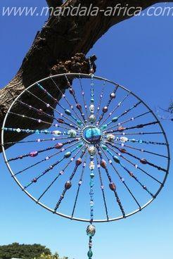 Heilige Traum Mandalas | Mandala Afrika | Sun Light Catcher | Traumfänger - Mandala Afrika