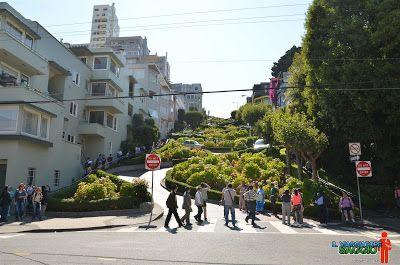 Lombard Street San Francisco - Il Viaggiatore Saggio