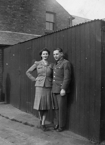 Violet and Herbert, Mossley Hill, Liverpool, April 1943