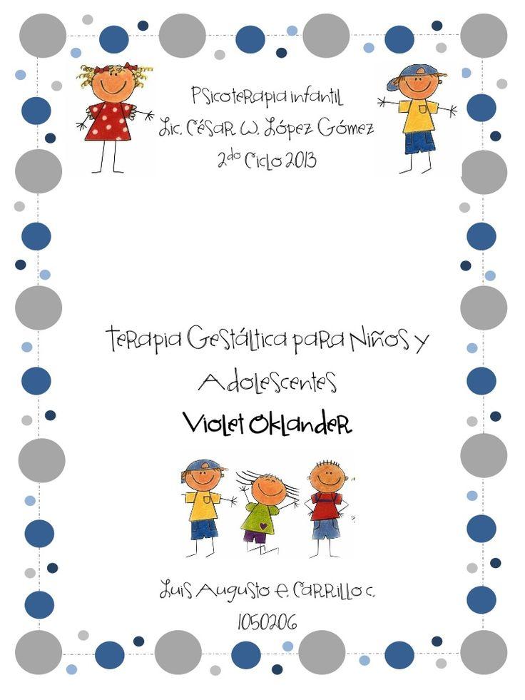 Gestalt-Libro ventanas a nuestros niños by Luis Carrillo via slideshare