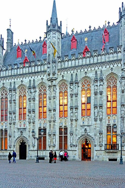 Belgium - Town Hall Brugges                                                                                                                                                     More