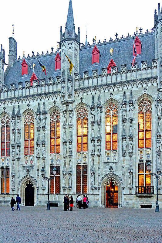Bélgica - Ayuntamiento de Brujas