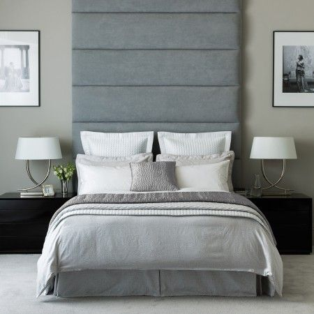 beaumont glamorous silver bedding