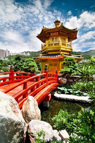 Nan Lian Gardens - Hong Kong   http://www.travelandtransitions.com/destinations/destination-advice/asia/