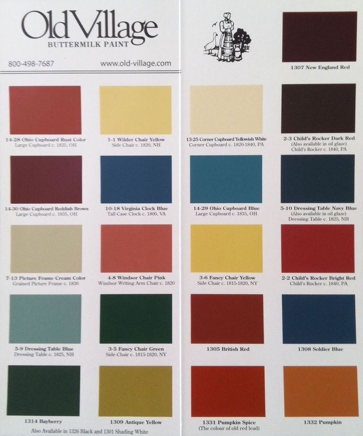 OLD VILLAGE PAINTS capture the charm and character of Colonial  Federal and  Victorian periods  Perfect for furniture  walls  decorative accents. 17 Best ideas about Primitive Paint Colors on Pinterest   Country