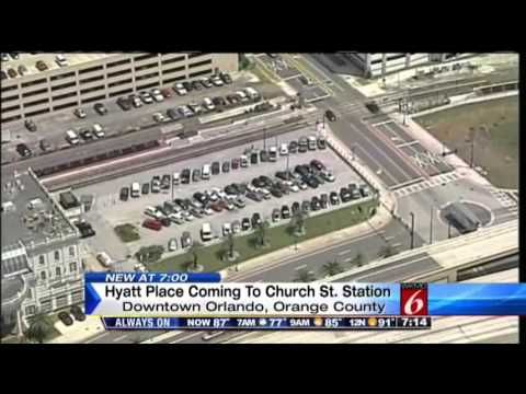 Cbs Affiliate Tv Station Reports On Proposals To Build New Hotels Downtown Orlando And Integrate The Sunrail Commuter Train
