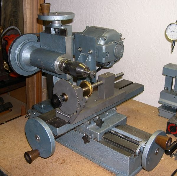 Home lathe mill projects