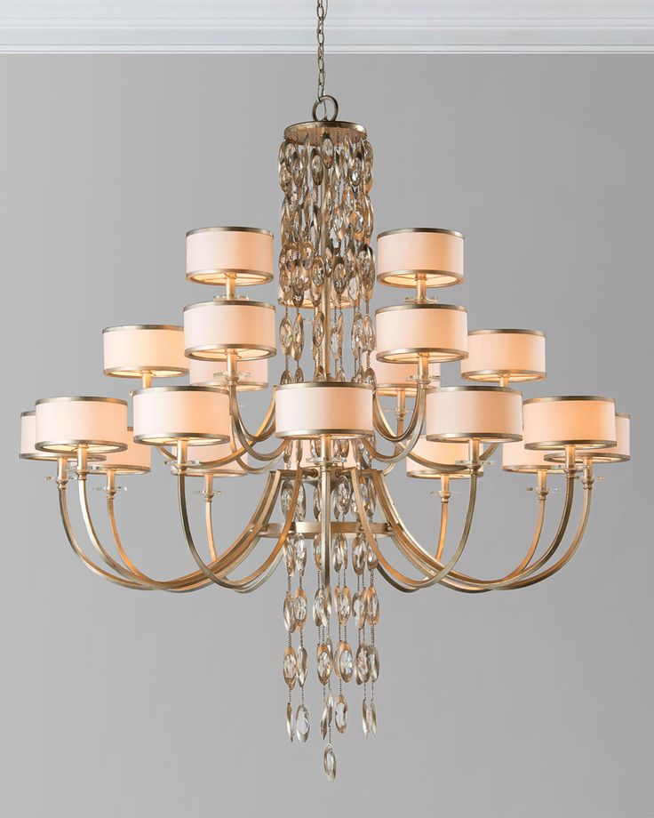 59 best lighting fixtures chandeliers images on pinterest counterpoint 21 light chandelier white john richard collection mozeypictures Gallery