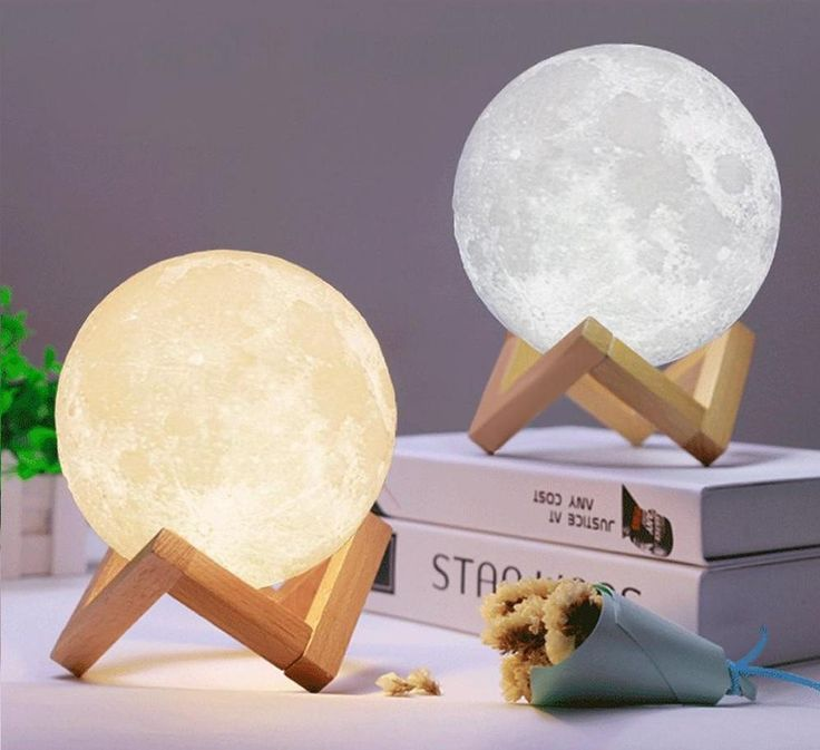 Wonderful 3D moon lamp! it's mesmerising!!  -Moon Lamp