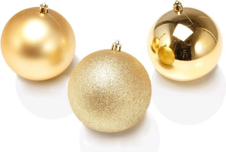 Christbaumkugeln gold, goldfarben, yourhome Jetzt bestellen unter: https://moebel.ladendirekt.de/weihnachten/weihnachtsdeko/?uid=d38a57e0-8b4e-5de4-b366-17d8600dfb79&utm_source=pinterest&utm_medium=pin&utm_campaign=boards #christbaumkugeln #weihnachten #weihnachtsdeko
