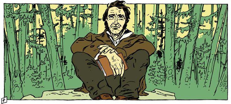 """¿QUÉ ES LA DESOBEDIENCIA CIVIL? Thoreau decía que """"los libros son la riqueza atesorada del mundo (…) y ejercen una influencia mayor que la de reyes o emperadores""""."""