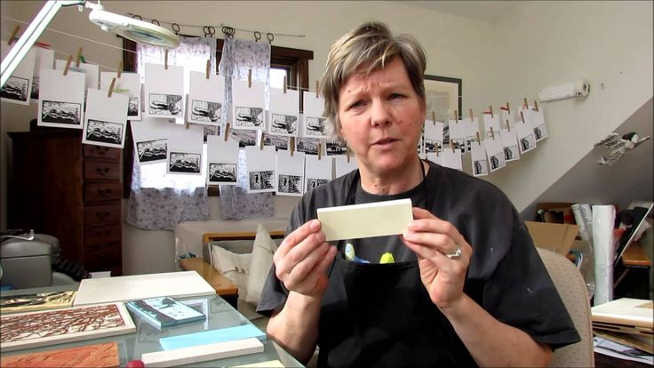 LINDA COTE Printmaking Supplies: The Block - YouTube