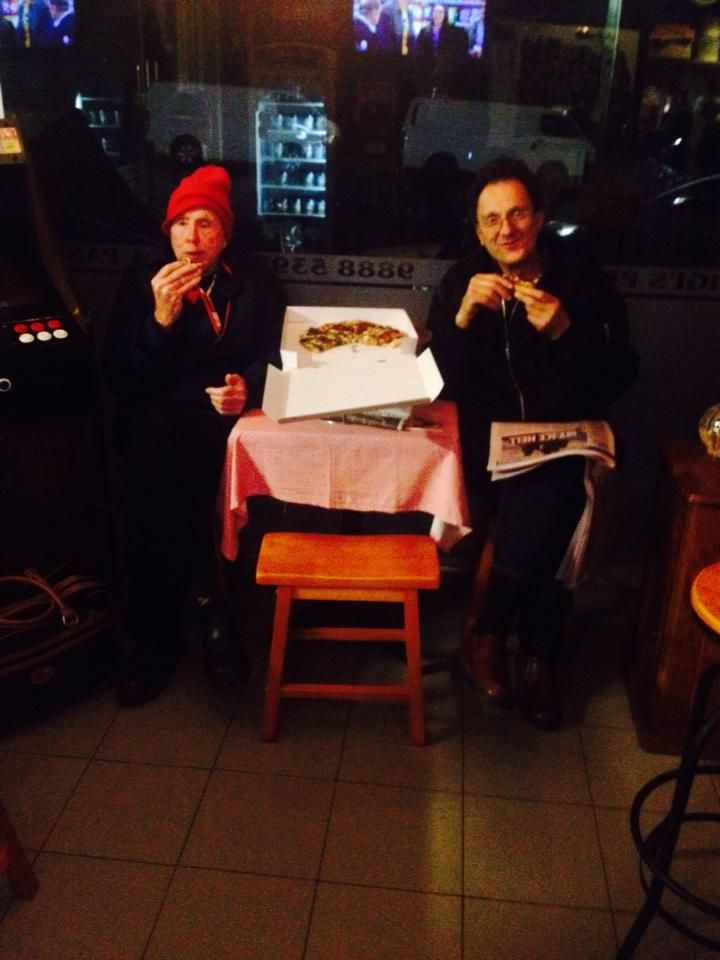 Another Fantastic shot of Happy customers , Enjoying our Wonderful Pizza! Thank you everyone for another great week. Luigi's Pizza Bar  - The Finest - #happy #food #yum #luigispizza #luigispizzabar #happycustomers