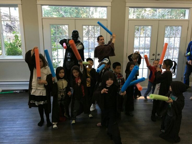 Kids vancouver star wars themed event .. birthday