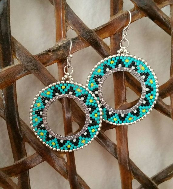 Check out this item in my Etsy shop https://www.etsy.com/listing/224870780/beautiful-native-american-style-earrings