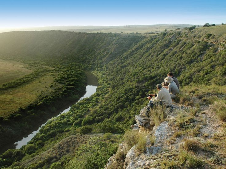 Take in the views at Amakhala Game Reserve, Eastern Cape