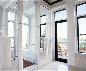 Shower with Wraparound Views