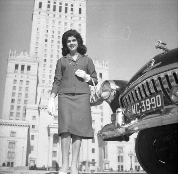 Romuald Broniarek: marzec 1960, Warszawa. Sesja fotograficzna na okładkę tygodnika 'Przyjaźń'