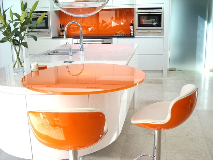 White Kitchen Orange Splashback 1000+ images about kitchen on pinterest | black granite, breakfast