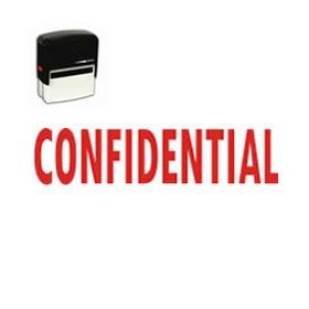"Self-Inking Confidential Office Stamp - Visit #AcornSales and check out our 'Confidential' Self-Inking Rubber Stamp. This #stamp features the phrase ""#Confidential"". Place your order now!"