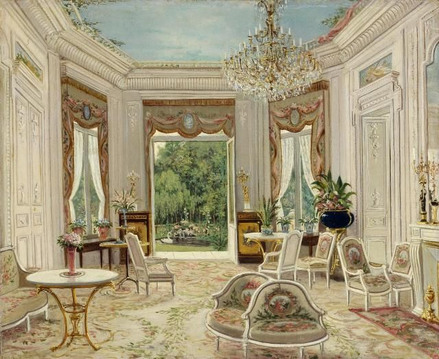 Drawing rooms (2nd half of the 19th century). Source: The Hermitage Museum