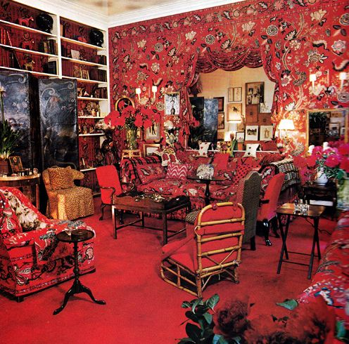 58 best red interiors images on pinterest
