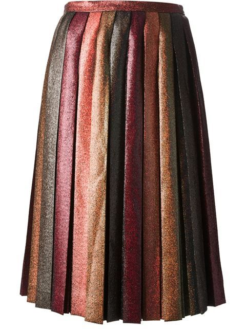 Shop Marco De Vincenzo pleated glitter skirt in Stefania Mode from the world's best independent boutiques at farfetch.com. Over 1000 designers from 60 boutiques in one website.
