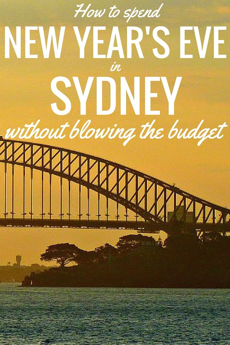 New Year's Eve in Sydney is spectacular and great fun but it can really blow the budget. Read our post to find out how to spend NYE in Sydney on the cheap
