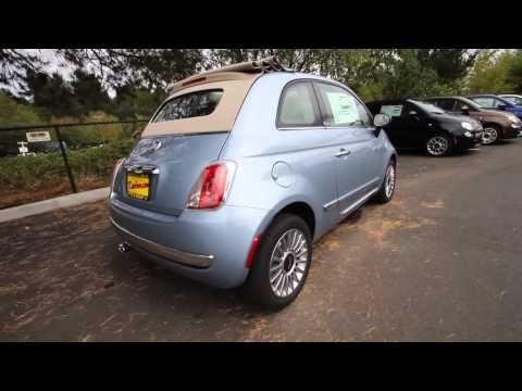 DT738689 | 2013 Fiat 500c Lounge | Rairdon's FIAT of Kirkland | Light Blue
