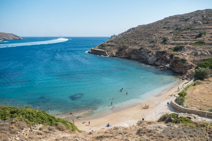 tzamaria beach Ios island Greece photos