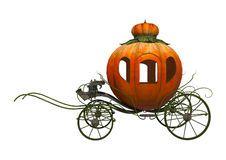 Cinderella Pumpkin Carriage Stock Photography