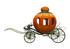 Cinderella Pumpkin Carriage Stock Photography