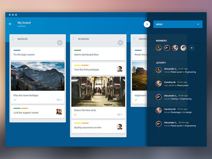 Hey!  Some fun with Trello for mac. Just a pretext once again for upcoming animations. I haven't followed the guidelines for a map app as you can see, I wanted to do a quick exploration with the ma...