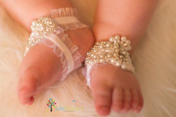 DIOR, Sandals, Barefoot Sandals, Baby Barefoot Sandals, Baby Shoes, Baby Sandals on Etsy, $400.00
