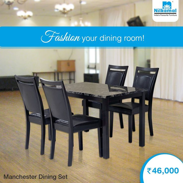 Relish Every Meal You Take With Our Manchester Dining Set Nilkamal DiningSet