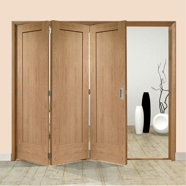 Freefold Oak Pattern 10 Style Folding 3 Door Set Height 2090mm Width 1890mm & 32 best Tri Fold Doors images on Pinterest | Door sets Tri fold and ...