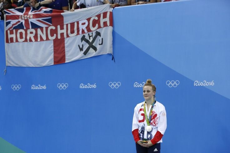 Siobhan-Marie O'Connor: Silver in 200m individual medley (9 August)