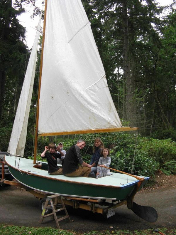 Crescent 15. 5 1/2 foot Crescent centerboard dinghy. A ...