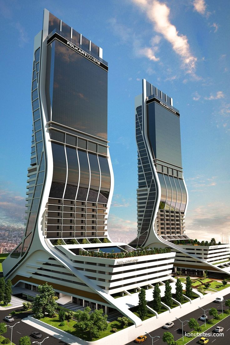 Folkart torres arquitectura - Las Folkart Towers son dos rascacielos gemelos situados en el distrito de Bayraklı de la ciudad turca de Esmirna