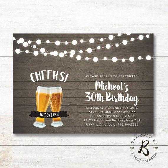 best 25+ birthday invitations adult ideas on pinterest | 70th, Birthday invitations