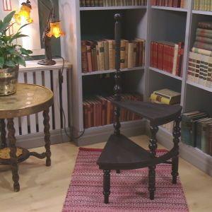 Interiör av ett bibliotek