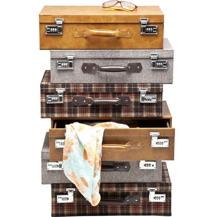 KARE Design Suitcase Highlands 6 Drawers Dresser