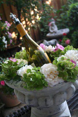 Garden wine bucket | Flickr - Photo Sharing!