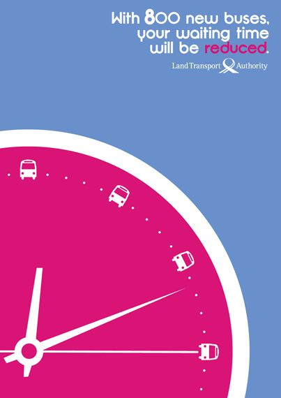 LTA Singapore Bus Ad...Time