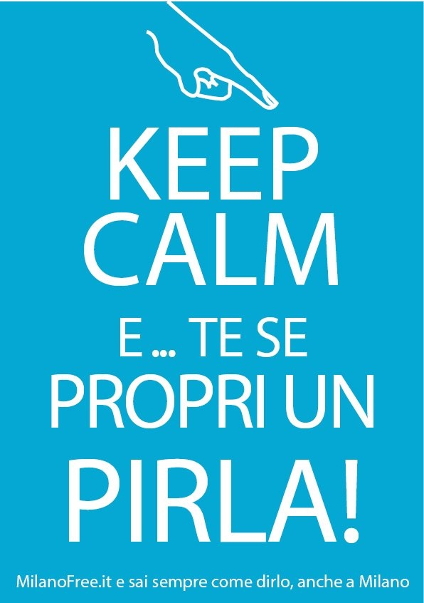 #keep #calm #evergreen #milano #milan   http://milanofree.it/